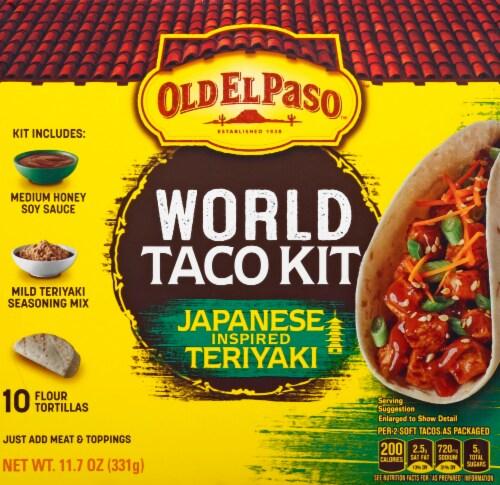 Old El Paso Japanese Inspired Teriyaki World Taco Dinner Kit Perspective: front