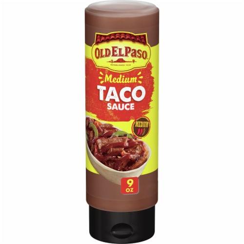 Old El Paso Medium Taco Sauce Perspective: front