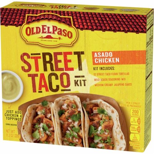 Old El Paso Asado Chicken Street Taco Kit Perspective: front