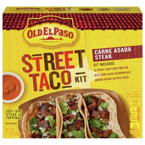 Old El Paso Carne Asada Steak Taco Kit Perspective: front