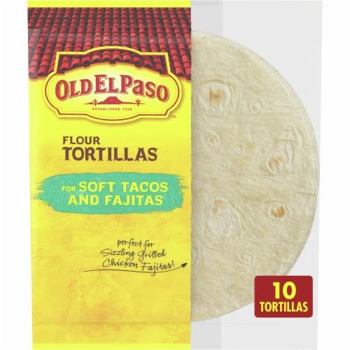 Old El Paso™ Soft Tacos & Fajitas Flour Tortillas Perspective: front
