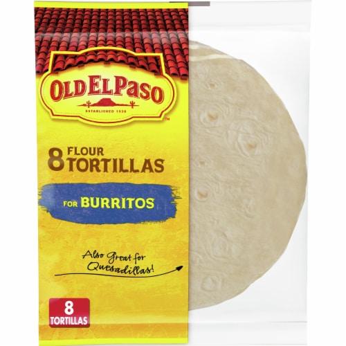 Old El Paso Burrito Flour Tortillas 8 Count Perspective: front