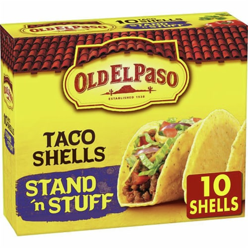 Old El Paso Stand 'n Stuff Taco Shells Perspective: front