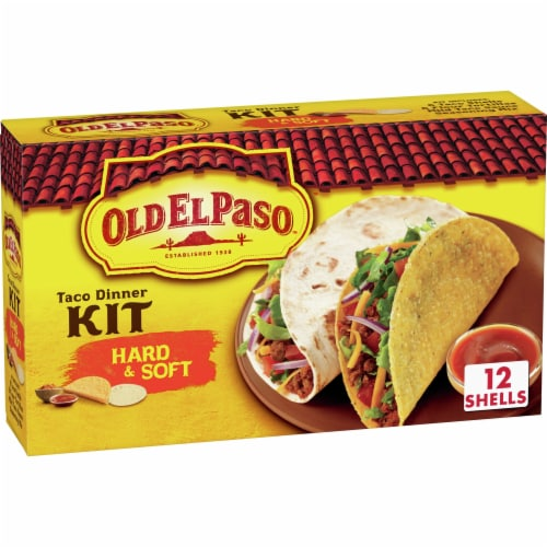 Old El Paso Hard Soft Taco Dinner Kit 12 Ct 11 4 Oz King Soopers