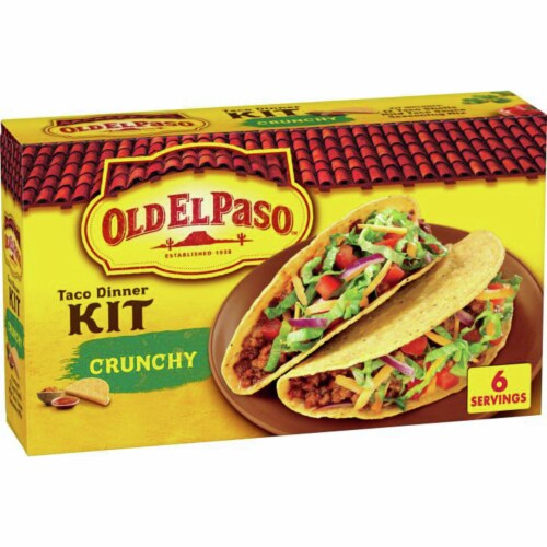 Old El Paso Crunchy Taco Dinner Kit Perspective: front