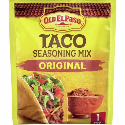 Old El Paso Original Taco Seasoning Mix Perspective: front