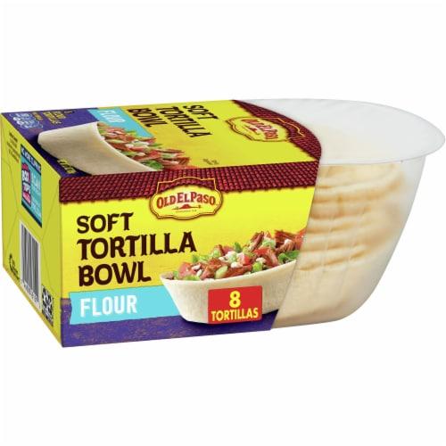 Old El Paso Soft Flour Tortilla Taco Bowls Perspective: front