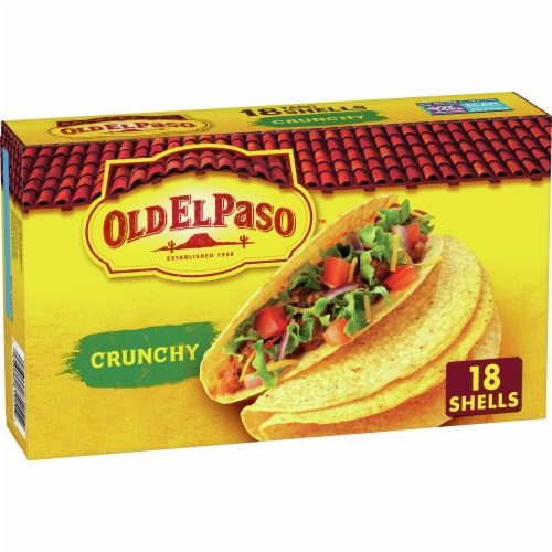 Old El Paso Gluten-Free Crunchy Taco Shells Perspective: front