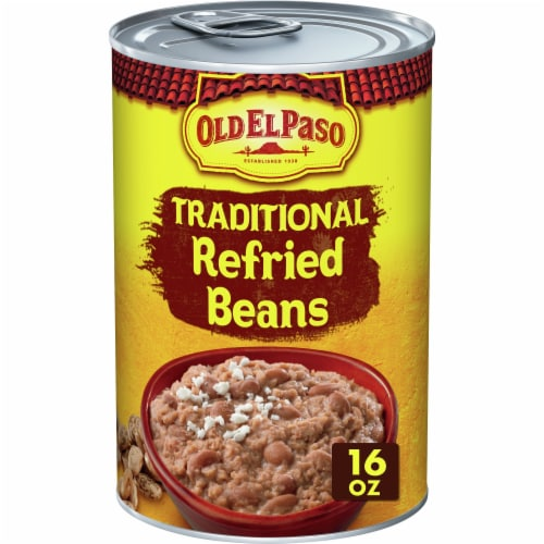 Old El Paso Traditional Refried Beans Perspective: front