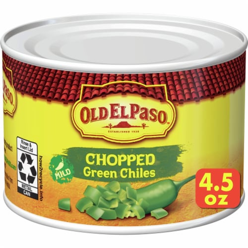 Old El Paso Mild Chopped Green Chilies Perspective: front