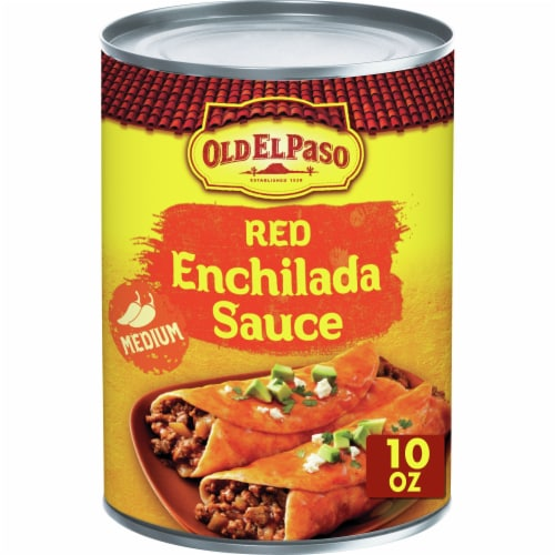 Old El Paso Medium Red Enchilada Sauce Perspective: front