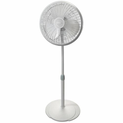 Lasko Performance Pedestal Fan - White Perspective: front
