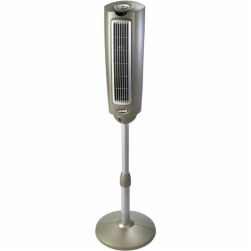 Lasko Oscillating Pedestal Fan - Gray Perspective: front