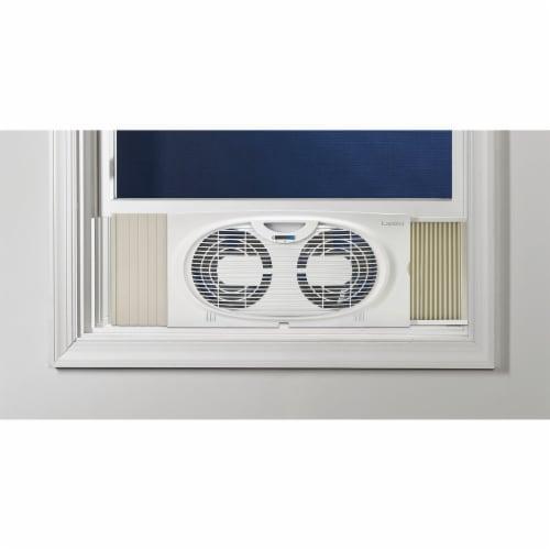 Lasko Twin Window Fan Perspective: front