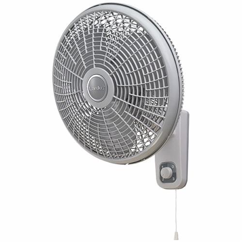 Lasko Oscillating Wall Mount Fan Perspective: front