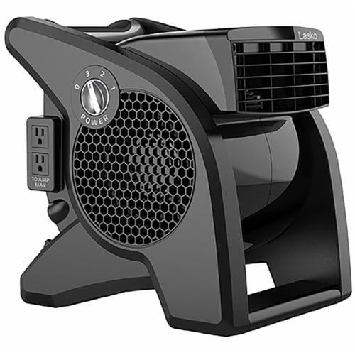 Lasko Pro Performance High Velocity Utility Fan Perspective: front