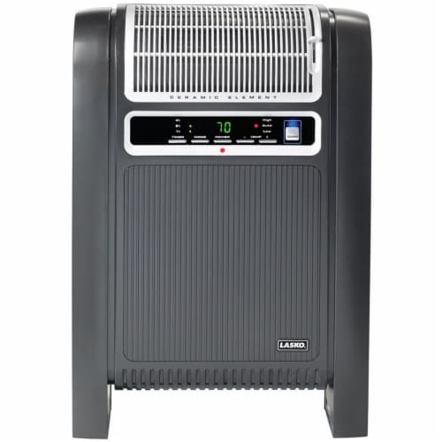 Lasko Cyclonic Ceramic Heater - Black Perspective: front
