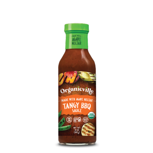 Organicville Tangy BBQ Sauce Perspective: front