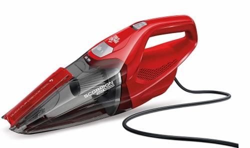 Dirt Devil Scorpion Quick Flip Handheld Vacuum Cleaner - Red Perspective: front