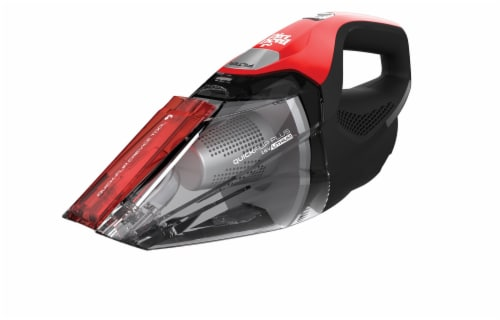 Dirt Devil Quick Flip Plus Handheld Vacuum Cleaner - Red/Black Perspective: front