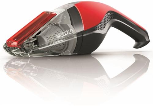 Dirt Devil Quick Flip® Handheld Vacuum Cleaner - Red/Black Perspective: front