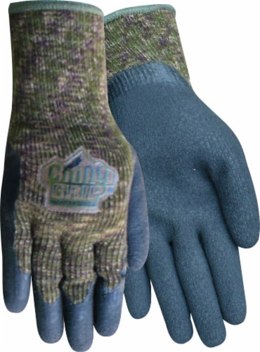 Red Steer Glove Company Chilly Grip Men's Gloves - Camo Perspective: front