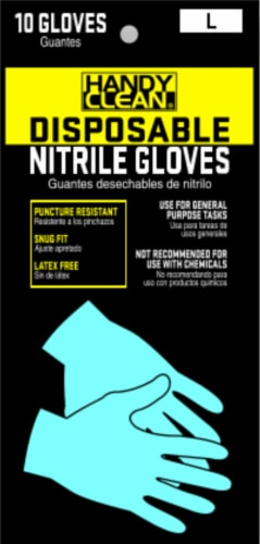 Red Steer Glove Company Disposable Nitrile Gloves - 10 pk Perspective: front