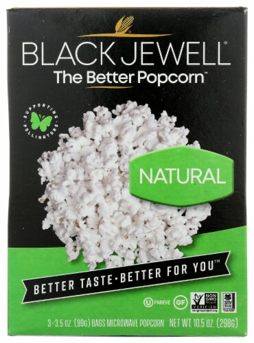 Black Jewell Natural Popcorn Perspective: front