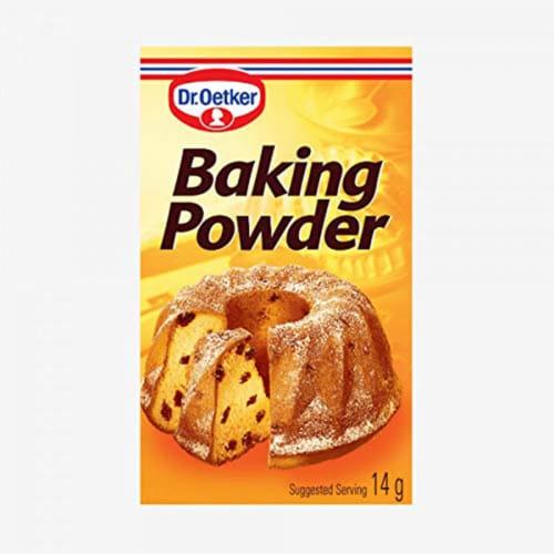 Dr. Oetker Baking Powder, 0.5oz.(Pack of 6) Perspective: front