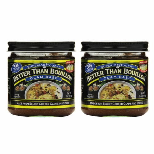 Better Than Bouillon Clam Base Pack of 2 Perspective: front