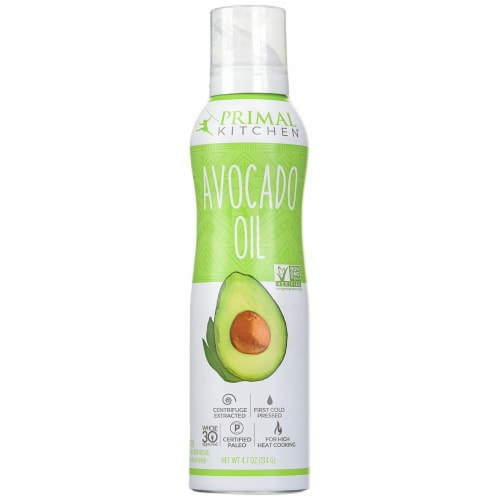 Primal Kitchen Avocado Oil Spray, Whole 30 Approved & Cold Pressed, 4.7 Ounce (Pack of 1) Perspective: front