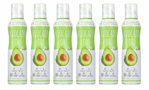 Primal Kitchen Avocado Oil Spray, Whole 30 Approved & Cold Pressed, 4.7 Ounce (Case of 6) Perspective: front