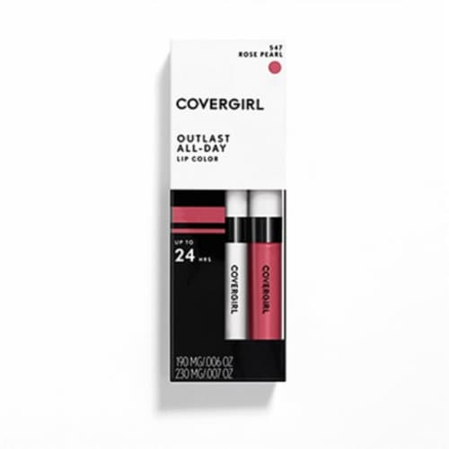 CoverGirl Outlast All-Day Rose Pearl 547 Lip Gloss Perspective: front