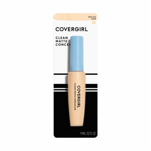 CoverGirl Ready Set Gorgeous 105/110 Fair Clean Matte Concealer Perspective: front