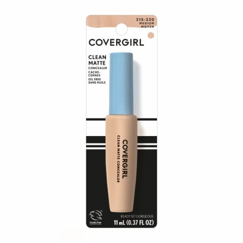 CoverGirl Ready Set Gorgeous 215-220 Medium Clean Matte Concealer Perspective: front