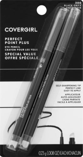 CoverGirl Perfect Point Plus Black Onyx 200 Eye Pencil Perspective: front