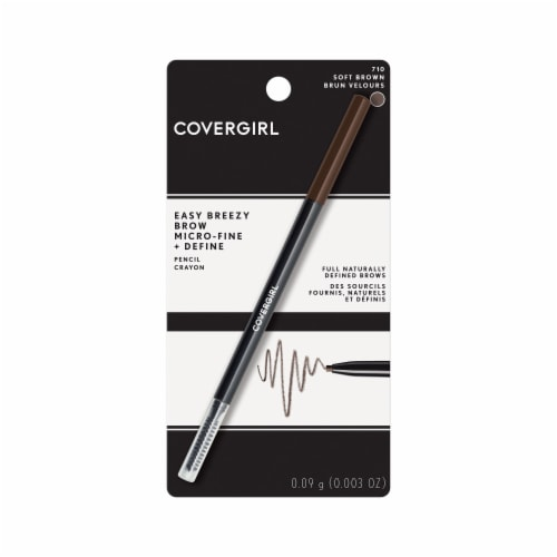CoverGirl Easy Breezy Brow Soft Brown Pencil Crayon Perspective: front