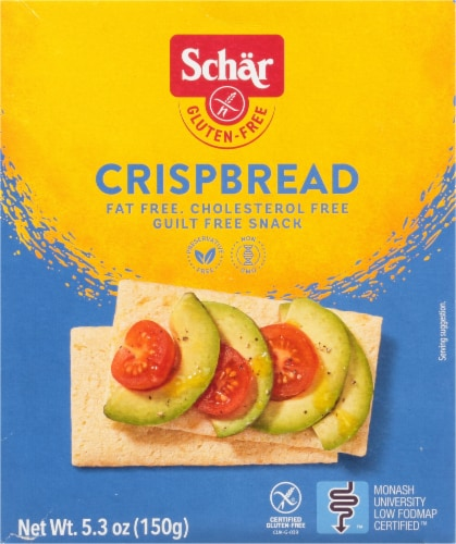 Schar Gluten Free Crispbread Perspective: front