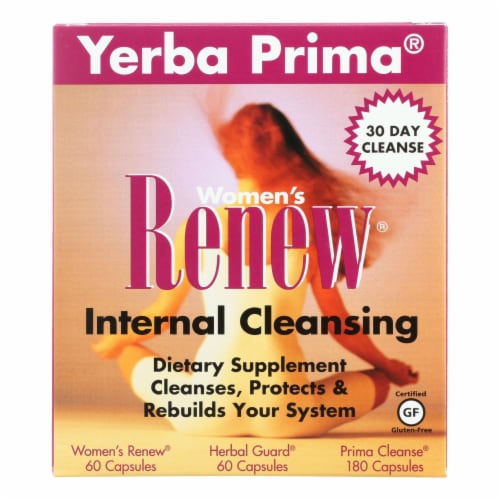 Yerba Prima Women's Renew Internal Cleansing Perspective: front