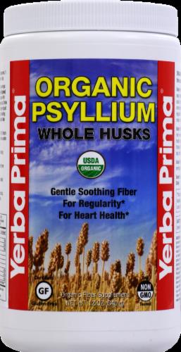 Yerba Prima Organic Psyllium Whole Husks Perspective: front