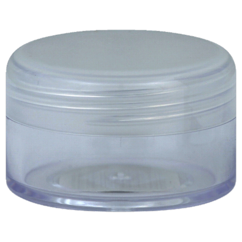 Sprayco Clear Pill Container Perspective: front