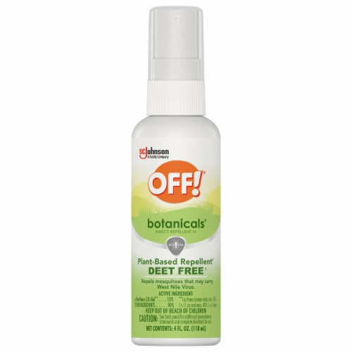 Off!® Botanicals Plant-Based Insect Repellent Perspective: front