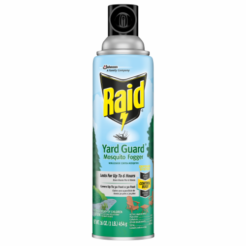 Raid® Yard Guard Mosquito Fogger Perspective: front