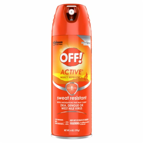 Off!® Active Sweat Resistant Insect Repellent Perspective: front