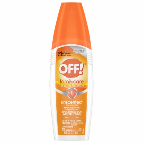 Off!® Family Care Unscented Insect Repellent Perspective: front