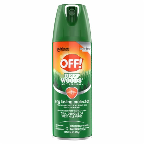 Off!® Deep Woods Insect Repellent Perspective: front
