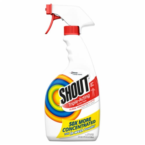 Shout Triple-Acting Stain Remover Perspective: front