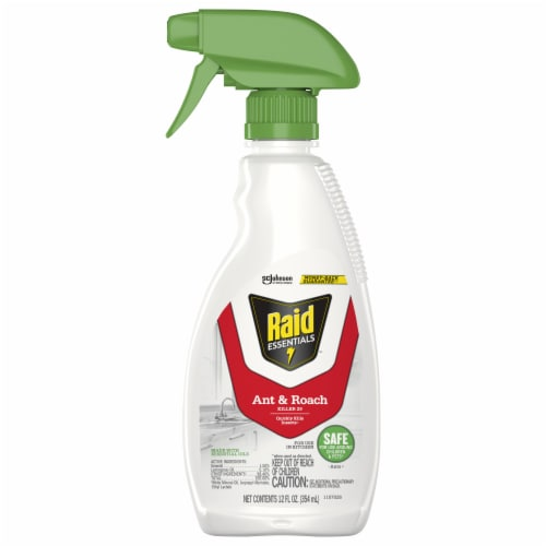 Raid® Essentials Ant and Roach Killer Perspective: front