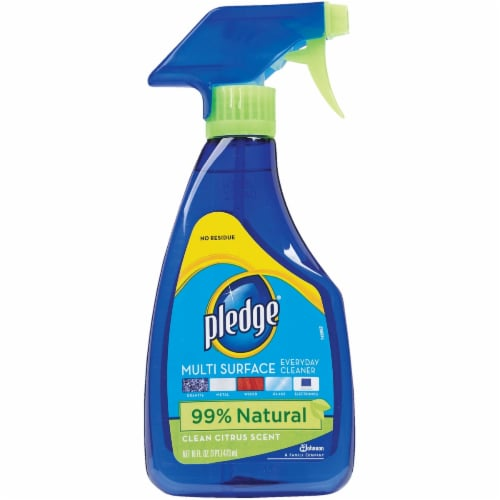Pledge 16 Oz. Clean Citrus Multi Surface Everyday Cleaner 70312 Perspective: front