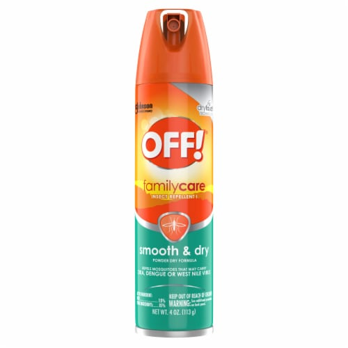Off!® Family Care Smooth and Dry Insect Repellent Perspective: front